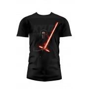 SD TOYS T-Shirt Sw Ep7 Kylo Lightsaber Blck Kids Taglia M T-Shirt