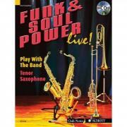Schott Music Funk & Soul Power Tenor Saxoph Dechert, Buch und Playalong CD