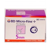 Becton Dickinson Spa Bd Micro-Fine Aghi G31 5mm 100 Pezzi