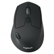 Mouse Logitech M720 Con Bluetooth Y Múltiples Enlaces Ratón Inalámbrica - Negro