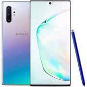 "Samsung Galaxy Note 10+ Plus SM-N9750/DS 512GB, Snapdragon 6.8"" Dual Sim LTE, 12GB RAM, Libre de Fabrica (Version Internacional) Aura Glow"