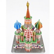 Look-open 46Pcs 3d Puzzle Paper Model,Saint Basil's Cathedral