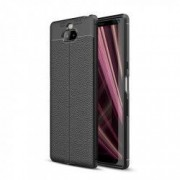 Carcasa TECH-PROTECT TPULEATHER Sony Xperia 10 Black