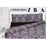 Parure copripiumino sacco cotone con federe ZEBRA