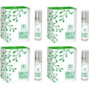 Arochem GREEN MUSK Herbal Attar (Pack of 4)