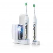 Philips Четки за зъби с акумулаторна батерия FlexCare Sonicare 2бр + 1бр рез.глава + UV устройство за дезинфекция на глави