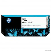 HP 726 300-ml Matte Black Designjet Ink Cartridge (CH575A)