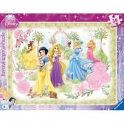 Puzzle printesele Disney, 30 piese, RAVENSBURGER
