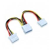 Astrum MO215 PSU Molex 1 - 2 Split Adapter