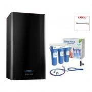 Produs cadou la Pachet centrala termica in condensare Ariston Alteas One Net 35 EU 35 kW + filtru de apa potabila Valrom PUR 3 UF. 7 ani Garantie