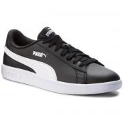 Puma Sneakersy PUMA - Smash V2 L 365215 04 Puma Black/Puma White
