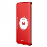 Baterie externa , Baseus Simbo Smart , 10000mAh , 1 x USB C PD , 1 x Lightning 1 x USB , 3A , rosu