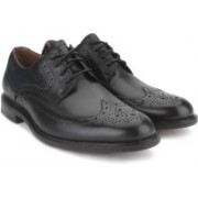 Clarks Dorset Limit Black Men Genuine Leather Formal shoes For Men(Black)