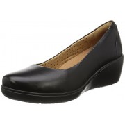 Clarks Women's Un Cass Black Pumps - 7 UK/India (41 EU)