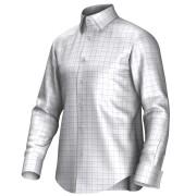 Maatoverhemd wit/blauw/roze 53322