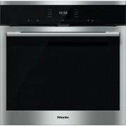 Miele ContourLine H6560BP CleanSteel Single Built In Electric Oven