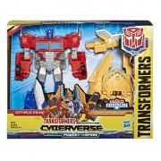 Transformers Cyberverse Power Robot Optimus Prime Hasbro