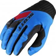 Scott 450 Podium Motocross guantes 2017 Rojo Azul XL