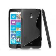 Силиконов гръб S-Line за Nokia Lumia 1320 Черен