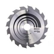 Disc fierastrau circular Bosch Professional Optiline Wood Ø190x2x30 mm 16 dinti