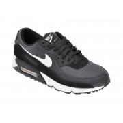 Pantofi sport NIKE negri, Air Max 90, din material textil si piele intoarsa