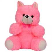 Sandbox Plush Soft Toy Teddy Bear (Pink, 45 cm)