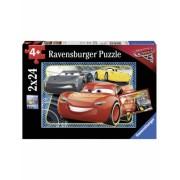 Puzzle Cars- Pot Sa Castig! 2X24 Piese Ravensburger