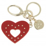 Kulcstartó LIU JO - Key Ring Heart N67109 A0001 Mars Red 81655