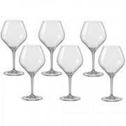 Pahar BOHEMIA CRISTAL AMOROSO vin alb set 6 buc 280ml