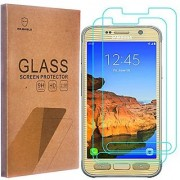 [2-PACK]-Mr Shield For Samsung Galaxy S7 Active (Not Fit For Galaxy S7) [Tempered Glass] Screen Protector with Lifetime