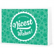 "Nicest Wishes! - Buono Stampabile - Formato PDF - """"Nice Wishes"