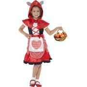 Childs Miss Hood Girl Costume - SMALL
