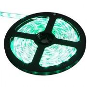 Waterproof Green LED 3528 SMD 300LED 5M Light Flexible Strip 12V 2A 24W 60LED/M