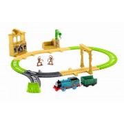 Set de joaca locomotiva cu sina - Locomotiva Thomas