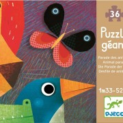 Puzzle gigant Parada animalelor