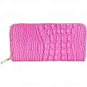 Nagyméretű pink színű női pénztárca - Méret 20 x 10 cm - 494073755502
