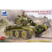A13 Mk I Cruiser British Tank Mk III 1-35 Hobby Boss