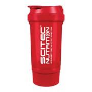 Shaker 500 ml Traveller átlátszó piros Scitec Nutrition