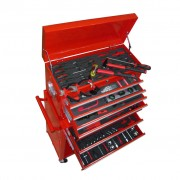 vidaXL Verktygsvagn med 7 lådor och verktyg