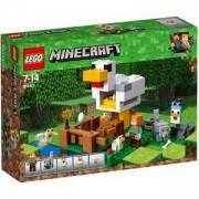 Конструктор Лего Майнкрафт - Кокошарник, LEGO Minecraft, 21140
