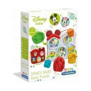 Jucarie interactiva Baby Clementoni - Puzzle Disney, 5 piese