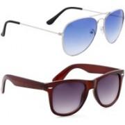 Phenomenal Aviator Sunglasses(Multicolor)
