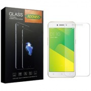 Adoniss 0.3mm Full Flexible Mobile Tempered Glass Protector (Pack of 1) for Oppo A71