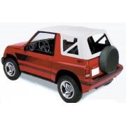 CAPOTE COMPLETE BLANCHE SUZUKI VITARA 96 (pressions) - accessoires 4X4 ma...