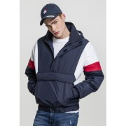 3-Tone Pull Over Jacket navy/white/fire red XXL