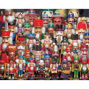 Springbok Puzzles - Nutcracker Collection - 1000 Piece Jigsaw Puzzle - Large 24 Inches by 30 Inches Puzzle - Made in USA - Unique Cut Interlocking Pieces