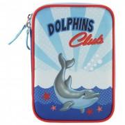 Target Collection Пенал с канцтоварами Дельфины №2