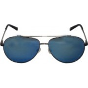TOMMY HILFIGER Aviator Sunglasses(Blue)