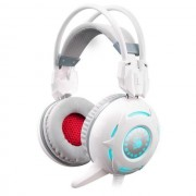 HEADPHONES, A4 G300 Bloody, Microphone, White