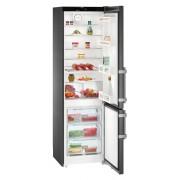 Combina frigorifica Liebherr CNbs 4015, 356 L, No Frost, Display, Control electronic, Alarma usa, Raft sticle, SuperCool, H 201.1 cm, A++, BlackSteel